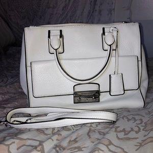 White Michael Kors Vintage Bag